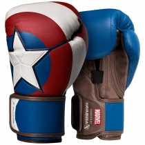 Hayabusa Captain America Boxing Gloves Limited Edition Marvel Hero Elite Series