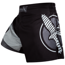 Hayabusa Kickboxing Shorts - Black/Grey