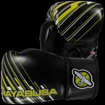 SALE - Ikusa Charged 14oz Gloves - Black/Lime Green