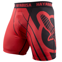 Recast Compression Shorts - Red/Black
