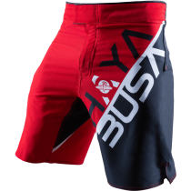 Stacked Performance Shorts - Red/Black