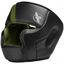 T3 Headgear Black/Green