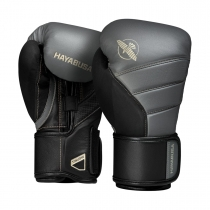 T3 Boxing Gloves Charcoal/Black